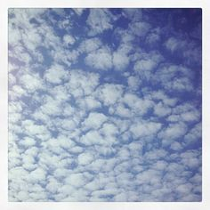 Bluesky and clouds in Witney Blue Sky Clouds, Oxford, Instagram Posts, Oxfords