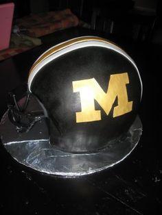 Mizzou Football Helmet-would make a great grooms cake.