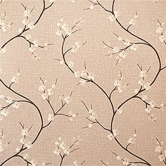 One of the options for the Hall Stairs Landing - Graham & Brown Wallpaper - Blossom Natural 58206M