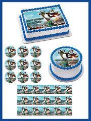 Kung Fu Panda 3 B Edible Birthday Cake Topper OR Cupcake Topper, Decor - #edibleprintsoncake