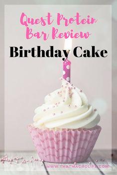 New Quest Bar Flavor Announcement Birthday Cake Protein High