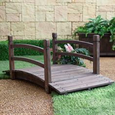 18 Small and Beautiful Fairy Tale Garden Bridges