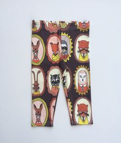 Organic Cotton Woodland Cameo Leggings modern by VivieAndAsh, $30.00