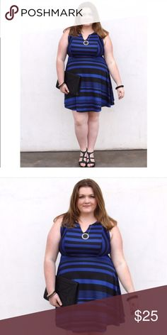 Torrid dress size 2 Stretchy fit and flare dress size 2 from Torrid. Worn once for shoot. Dresses Midi