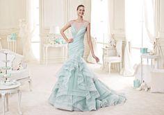 L'abito della fotografia è il modello NIAB15101TF - Nicole Bridal Collection 2015 – Photo Courtesy of Nicole Fashion Group