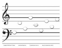 Free Music Worksheet for Early Elementary students