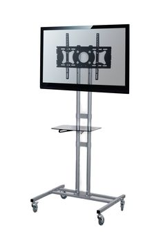 "Amazon.com : VIVO TV Cart / Stand for LCD, LED, Plasma, Flat Panel TVs with 3"" Wheels, mobile fits 32"" to 60"" with VESA 500x400 (STAND-TV01C) : Audio Video Equipment Carts : Office Products"