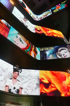 Milano Excelsior Shopping Mall - large LED displays @ARTIXIUM