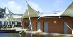 Pileli Yapılar - pilili tenteler
