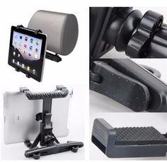 360° Universal Tablet PC Auto KFZ Kopfstützen PKW LKW Halterung Sitz Halter