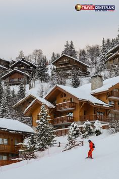 No, it isn't. This is a picture of a ski resort in the French Alps. Now, you'll finally understand that ski holidays are quite honestly, one of the best types of getaways. Seriously though, who wouldn't want to spend a few days in this place? Not us, that's for sure! Cheap Holiday, Holiday Deals, Winter Holiday Destinations, Alpe D Huez, Best Christmas Markets, Travel Center, Ski Holidays, French Alps, Favorite Holiday