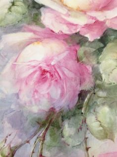 Sonie Ames Signed Hand Painted Roses on Porcelain Tile Vintage | eBay