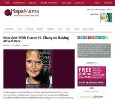 Interview on HapaMama #RaisingMixedRace