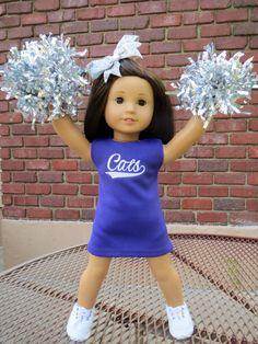 american girl doll cheerleader