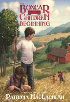 The Boxcar Children Beginning: The Aldens of Fair Meadow Farm by Patricia MacLachlan,http://www.amazon.com/dp/0807566160/ref=cm_sw_r_pi_dp_Ky86sb1ZNKRKRM0C