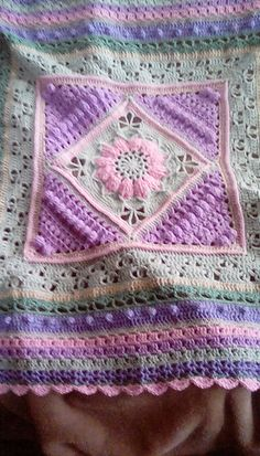 Ravelry: Project Gallery for Charlotte's Dream Blanket pattern by Dedri Uys