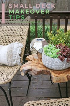 Transforming a small deck doesn