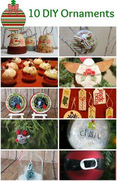 10 DIY Christmas Ornaments - Make Lasting Memories for your Christmas Tree