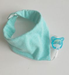 A personal favorite from my Etsy shop https://www.etsy.com/listing/256036768/aqua-sweatshirt-burpee-plus-baby-bandana