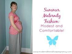 Summer Maternity Fashion: Modest and Comfortable! - Modern Alternative Pregnancy