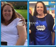 """""""I started FITTEAM FIT at the beginning of October. I didn't take an official """"before"""" picture because I wasn't sure how it would go. But the first picture is at a BBQ this summer, and the second one was this past weekend. Down two sizes and 18 lbs so far! It's not an """"after"""" pic because I'm not done yet!!"""" -Allison White Facebook.com/FitTeamEnjoyLife  www.fitteam.com/enjoylife    www.fitteamenjoylife.com #fitteam #fitteamenjoylife #fitteamglobal"""""""