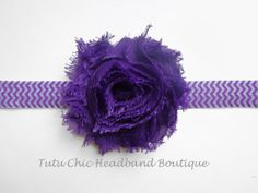 Purple Headband: baby headbands, newborn headband, chevron headbands infant headband, toddler headband, childrens headband