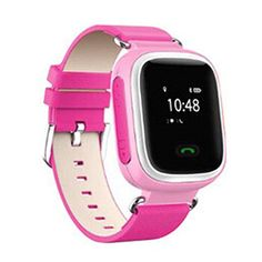 Efanr Q60 Smart Wrist Watch for Kids with Sim Card GPS Smartwatch WristWatch Antilost Children Location Finder SOS Call Fitness Device Tracker Remote Monitor for IOS Android Smartphones Pink *** You can get more details by clicking on the image.