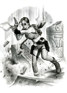Tomb Raider - Lara Croft by Joe Jusko *