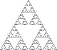sierpinski_üçgenleri