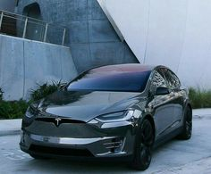 Tesla Electric Car, Electric Cars, Tesla Spacex, Airplane Car, Fast Sports Cars, Street Racing Cars, Top Luxury Cars, Tesla Model X, Tesla Motors