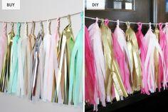 Buy or DIY? 10 Pretty Pieces of Paper Decor via Brit + Co.
