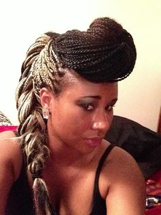 Remarkable 1000 Images About Braids Braids Braids On Pinterest Box Braids Short Hairstyles For Black Women Fulllsitofus