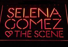 Selena Gomez & The Scene LED Neon Sign