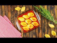 Pasta Muscheln mit Käsefüllung – Pasta Rezept aus dem Ofen