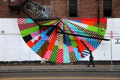 Jason Woodside.. . #streetart