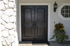 What A Huge Change These Rustic Doors Make.