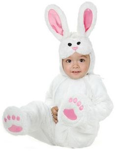 Kids Rabbit & Bunny Costumes: Spring Bunny Costume (more details at Halloween-Kids-Costumes.com) #Easter #Halloween #costumes>