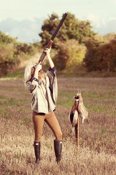 Hot chicks that hunt
