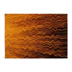 Colorful Abstract light wave lines 5x7'Area Rug on CafePress.com