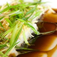 Chinese Steamed Fish by Use Real Butter