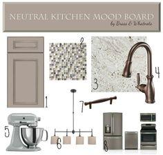 neutral kitchen mood board brass u0026 whatnots - Kitchen Knobs And Pulls