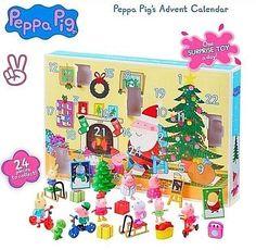 Peppa Pig Christmas Advent Calendar Toys Santa Tree Fun Kids Gift Present Cool Gifts For Kids, Cool Kids, Christmas Decorations, Holiday Decor, Peppa Pig, 3 Years, Advent Calendar, Presents, Santa