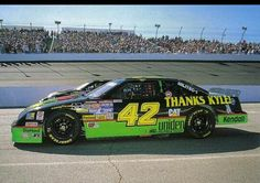 Kyle Petty's last trip in the mellow yellow race car