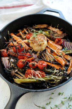 Roasted Balsamic Vegetables #recipe from Potato Chips are Not Dinner