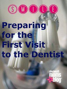 Smile! Preparing for the First Visit to the Dentist | Cincinnati Moms Blog #CMBNSisterSItes