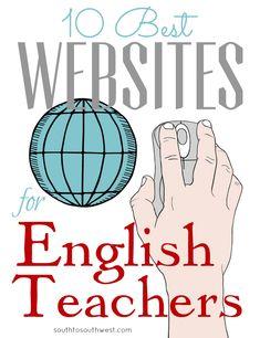 10 Best Websites for English #Teachers #CCSS #STEM #Education