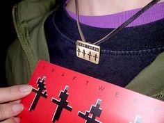 Kraftwerk concert in St. Dog Tags, Dog Tag Necklace, Concert, Pendant, Jewelry, Fashion, Moda, Jewlery, Jewerly