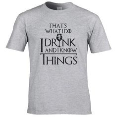 COOLMIND cotton casual breathable game of thrones men t shirt cooleticdress Game Of Thrones Men, Cool T Shirts, Brand Names, Cool Stuff, Tees, Casual, Mens Tops, Cotton, How To Wear