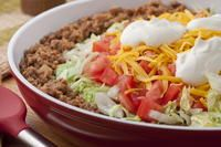 Fast Taco Pie Mexican Dishes, Mexican Food Recipes, Dinner Recipes, Dinner Ideas, Mexican Meals, Mexican Cooking, Entree Recipes, Beef Dishes, Food Dishes