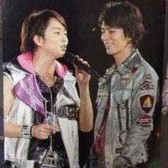 『嵐』Arashi: SakuMoto, Sakurai Sho and Matsumoto Jun, ARAFES 2013.